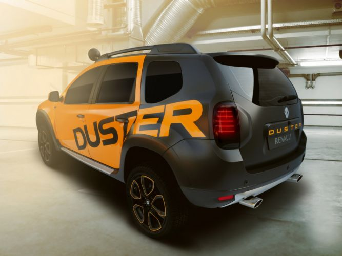 2013 Renault Duster Detour Concept suv awd f wallpaper