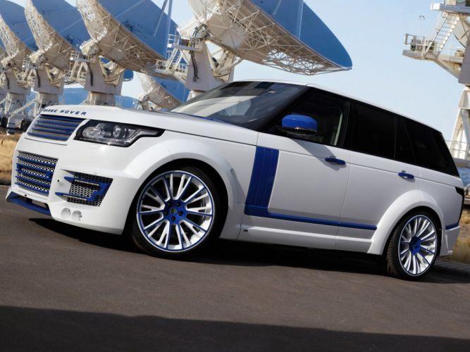 2013 TopCar Range Rover Lumma CLR R L405 tuning suv clr-r f wallpaper