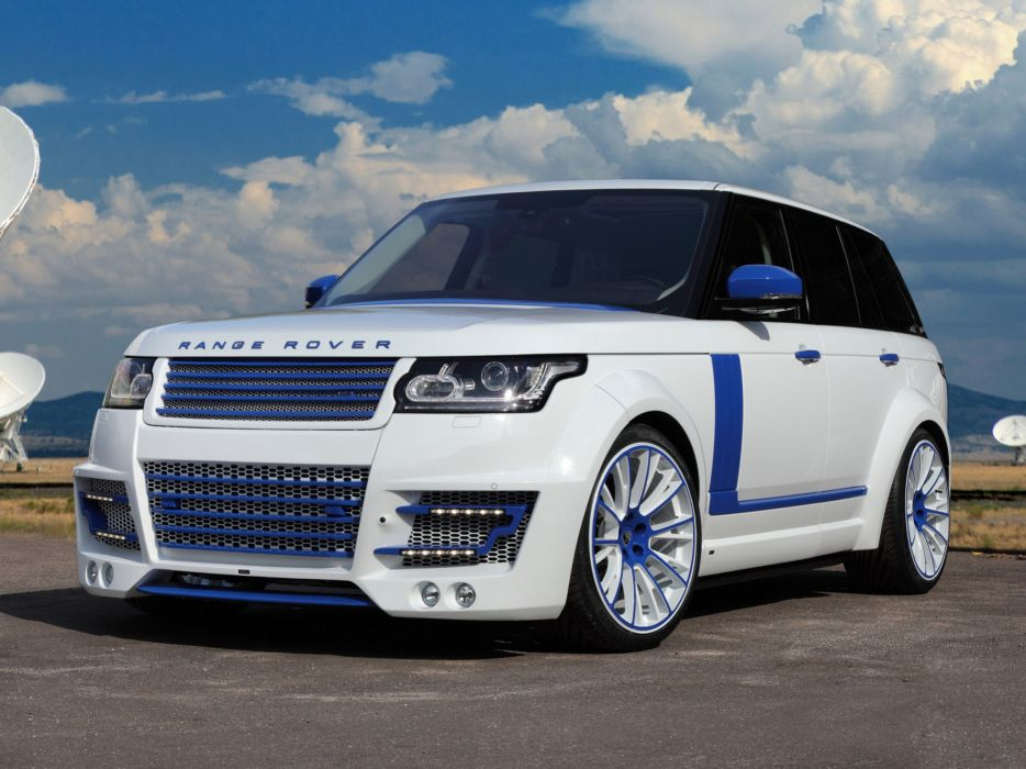 2013 TopCar Range Rover Lumma CLR R L405 tuning suv clr-r   gh wallpaper
