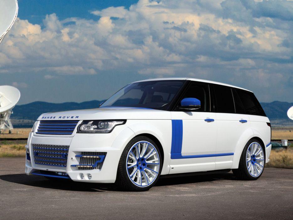 2013 TopCar Range Rover Lumma CLR R L405 tuning suv clr-r  g wallpaper