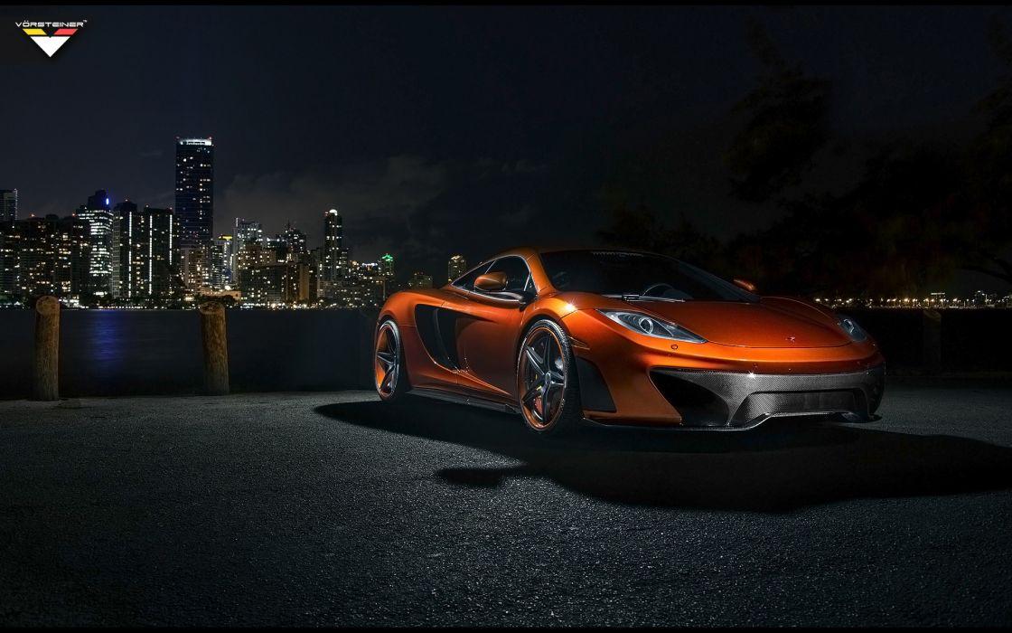 2013 Vorsteiner McLaren MP4-VX supercar mp4   d wallpaper