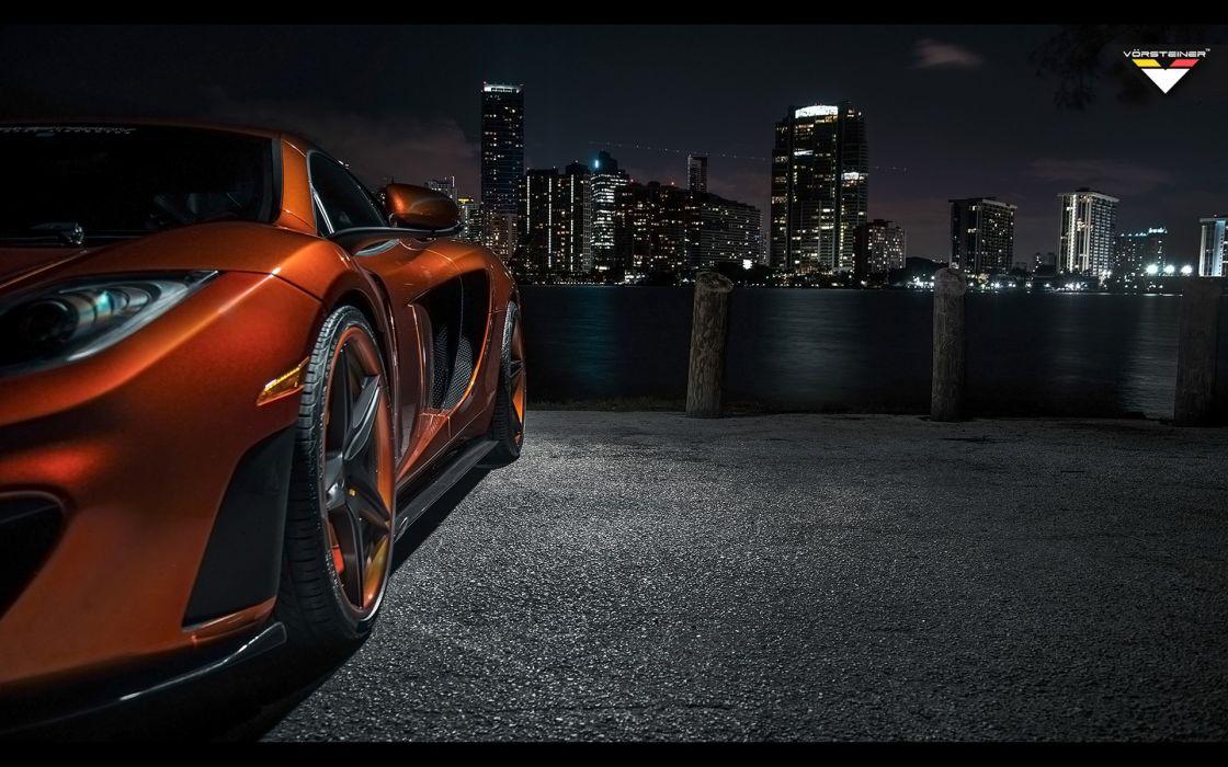 2013 Vorsteiner McLaren MP4-VX supercar mp4 wheel   f wallpaper