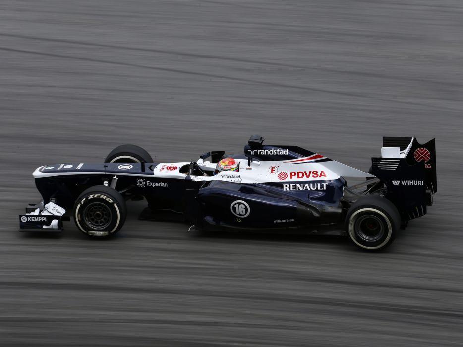 2013 Williams FW35 Formula One race racing f-1   d wallpaper