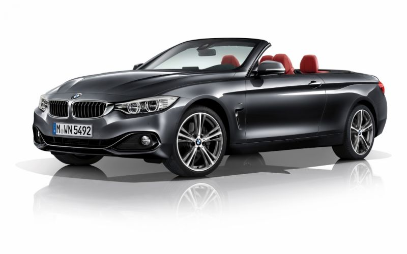 2014 BMW 4-Series Convertible fa wallpaper