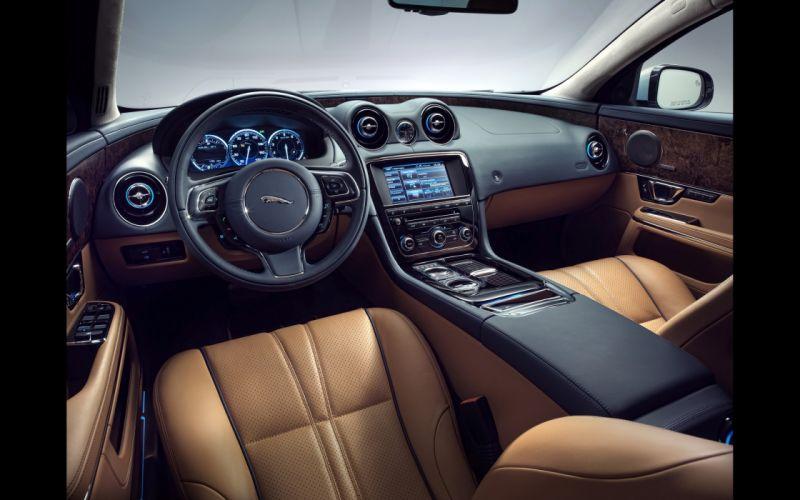 2014 Jaguar XJ luxury x-j interior gd wallpaper