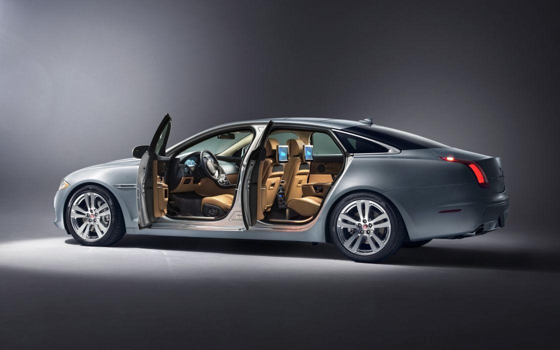 2014 Jaguar XJ Luxury X J Interior F Wallpaper