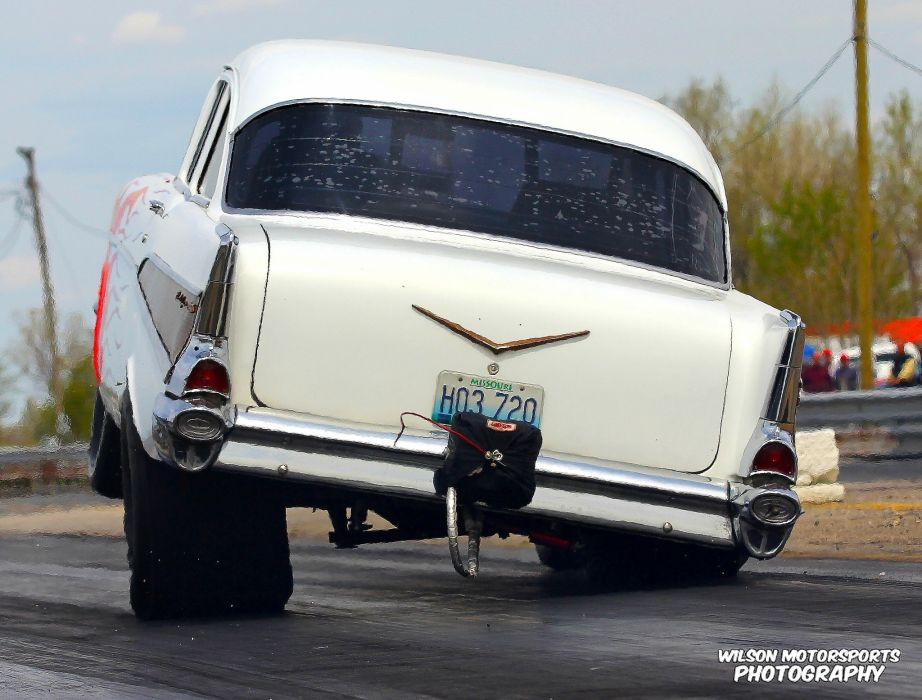 Drag Racing Race Hot Rod Rods Chevrolet Bel Air Wallpaper