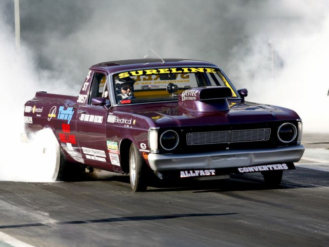 drag racing race hot rod rods ford falcon f wallpaper
