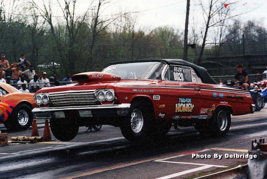 IHRA drag racing race hot rod rods chevrolet impala     f wallpaper