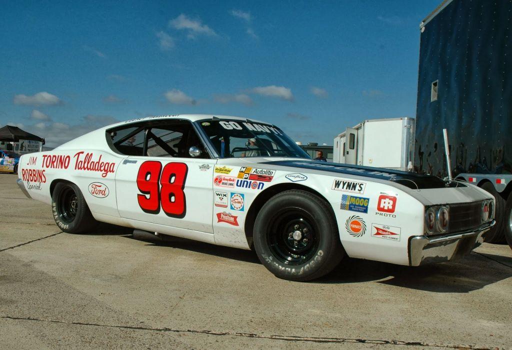 NASCAR race racing ford torino wallpaper