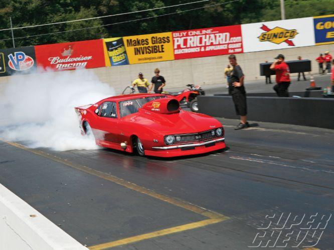 Pro-Mod drag racing race hot rod rods Chevrolet Camaro f wallpaper