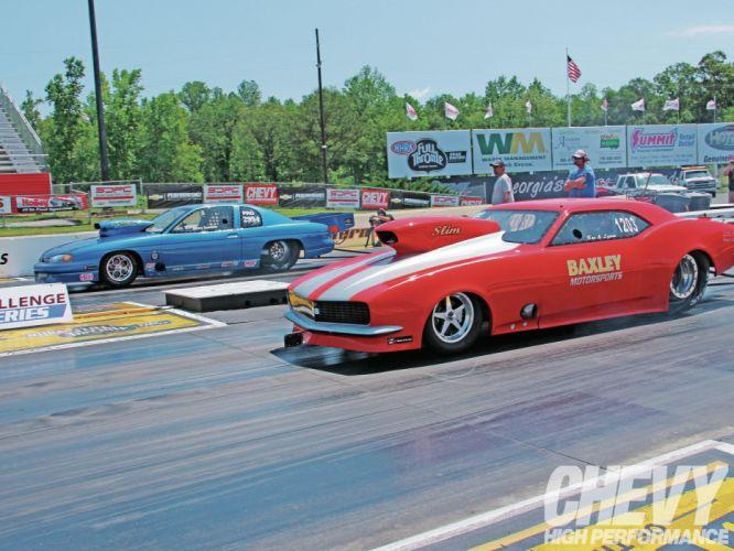 Pro-Mod drag racing race hot rod rods Chevrolet Camaro g wallpaper