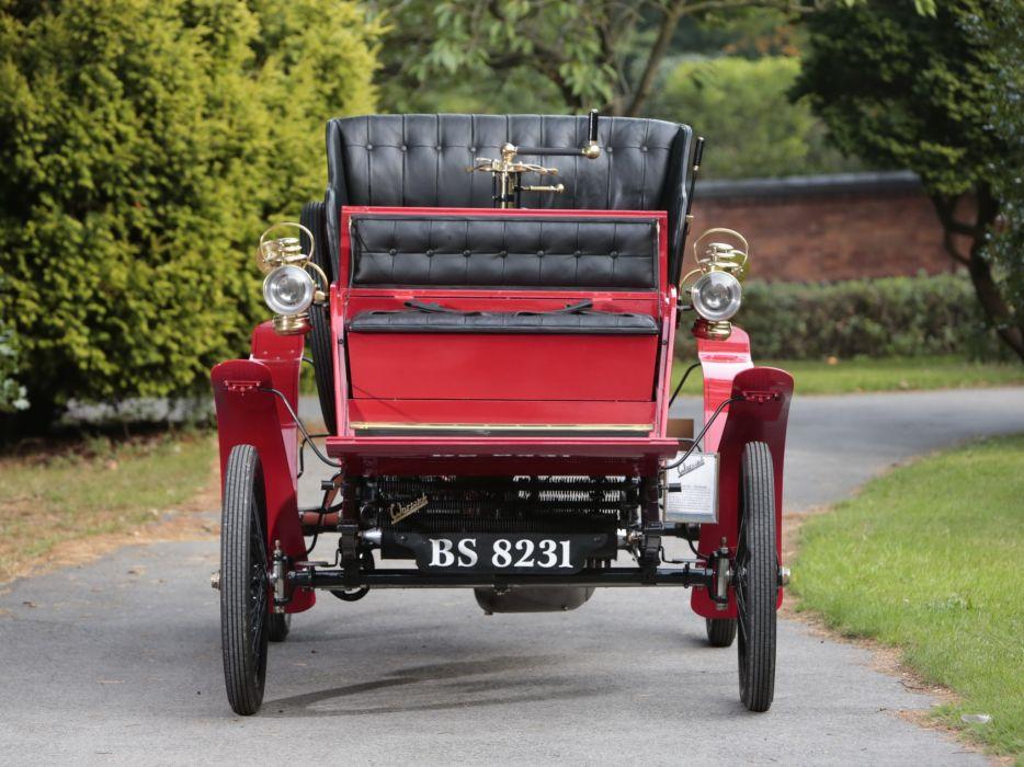1902 Warwick 6-HP Four-seater Stanhope retro   g wallpaper