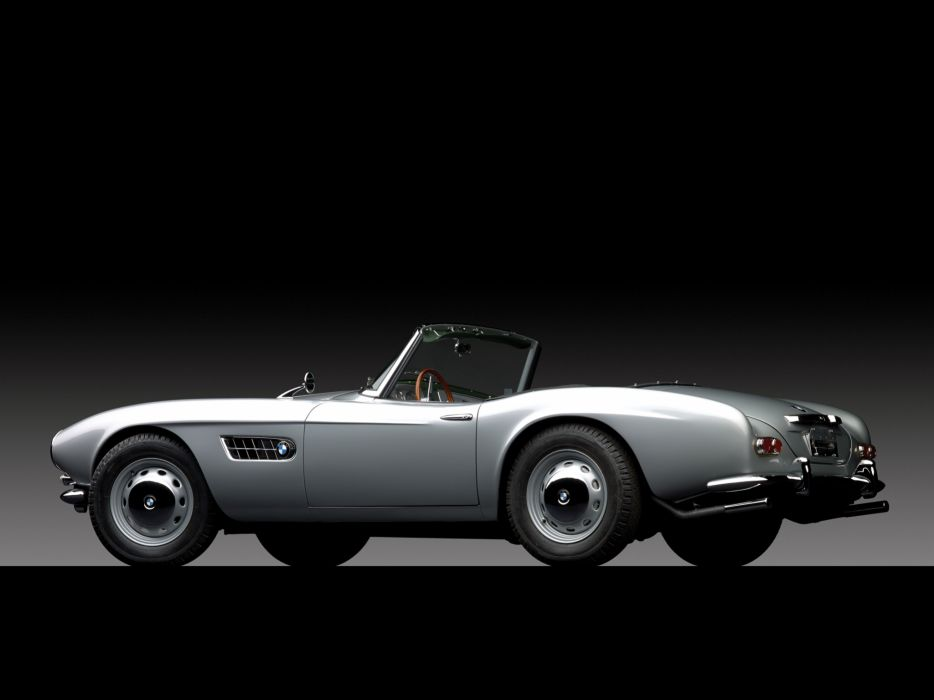 1959 BMW 507 (Series-II) retro convertible wallpaper