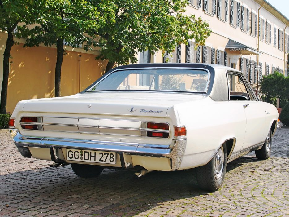 1965 Opel Diplomat V8 Coupe (A) classic muscle v-8     gd wallpaper