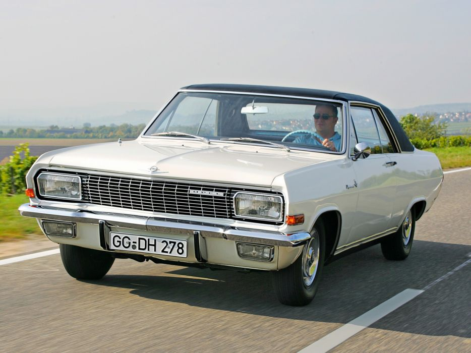 1965 Opel Diplomat V8 Coupe (A) classic muscle v-8   f wallpaper