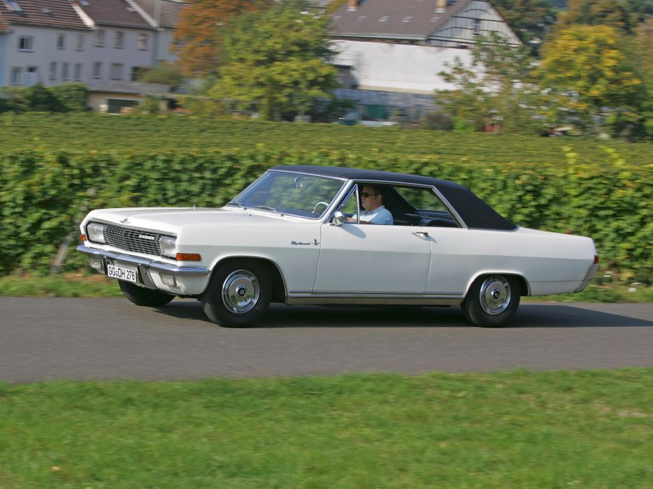 1965 Opel Diplomat V8 Coupe (A) classic muscle v-8 wallpaper