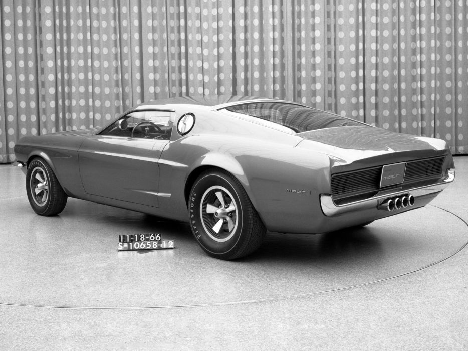 1966 Ford Mustang Mach-1 Prototype muscle classic mach wallpaper