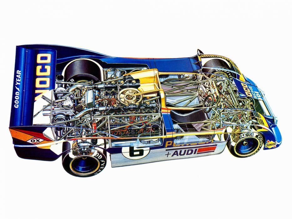 1973 Porsche 917-30 Can-Am Spyder (002-003) race racing 917 interior engine    g wallpaper