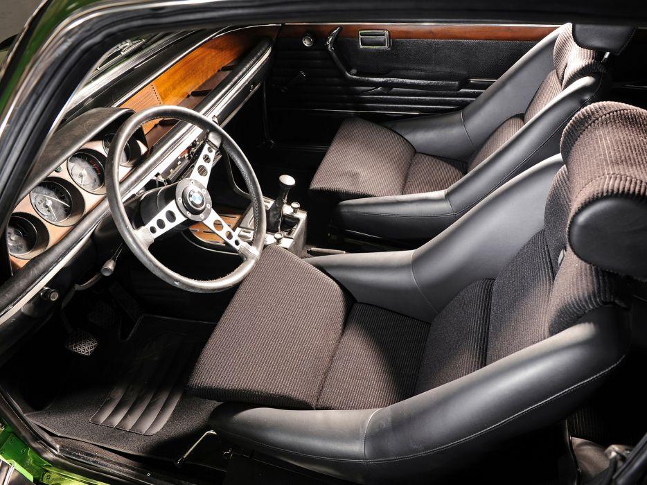 1974 BMW 3_0 CSL (E9) classic interior  g wallpaper