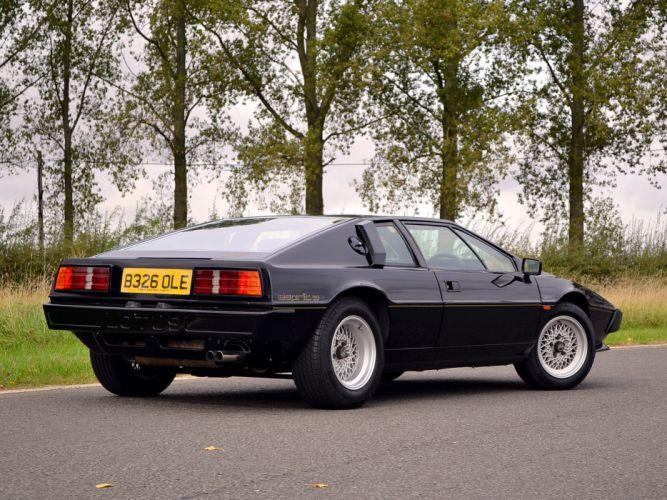 1985 Lotus Esprit S3 supercar s-3 f wallpaper