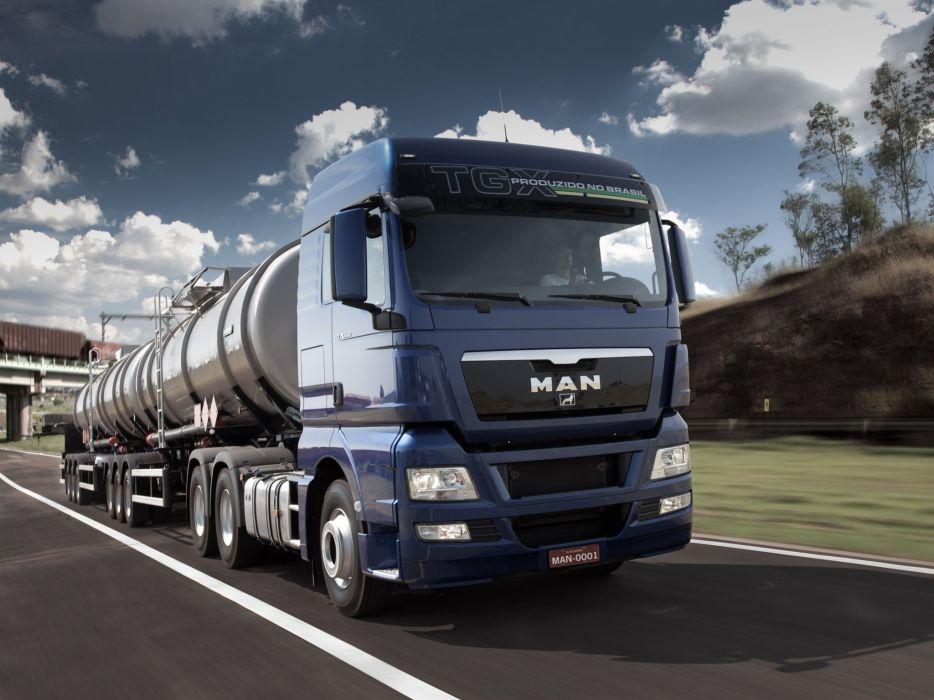 2012 MAN TGX 29_440 semi tractor   hd wallpaper