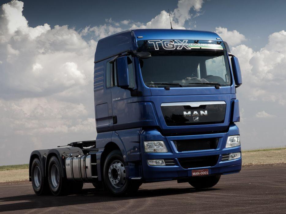 2012 MAN TGX 29_440 semi tractor   hq wallpaper