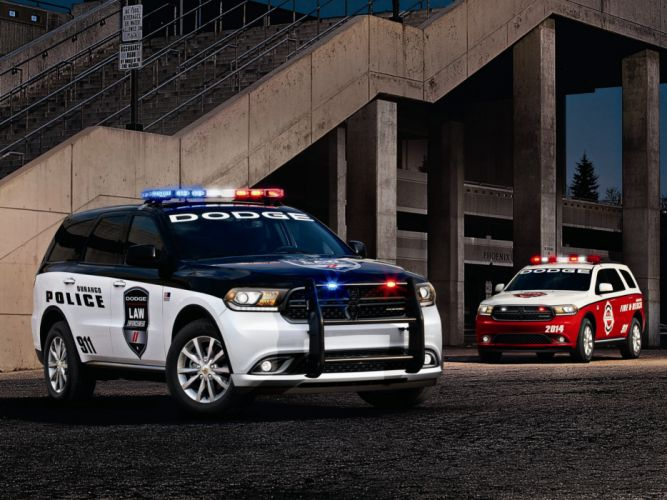 2013 Dodge Durango police firetruck emergency suv wallpaper