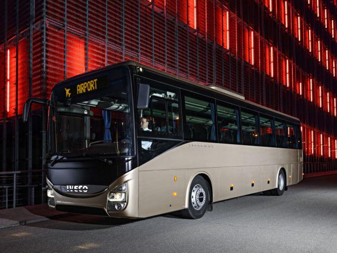 2013 Iveco Crossway Pro Bus transport semi tractor wallpaper