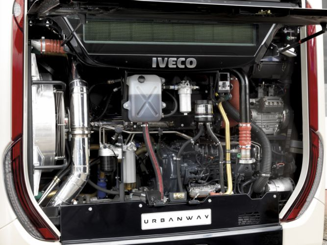 2013 Iveco Urbanway Bus transport semi tractor engine g wallpaper