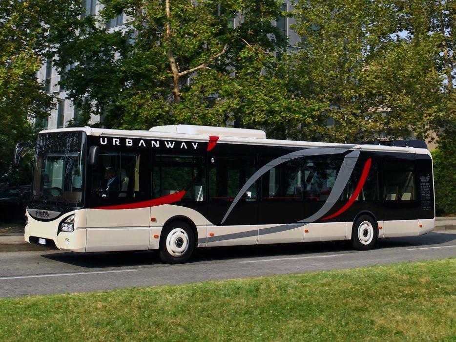 2013 Iveco Urbanway Bus transport semi tractor f wallpaper