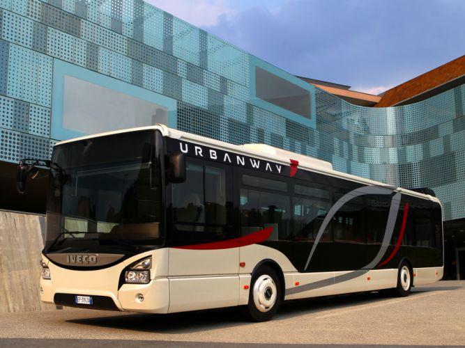 2013 Iveco Urbanway Bus transport semi tractor g wallpaper