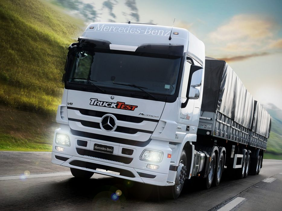 2013 Mercedes Benz Actros 2655 BR-spec (MP3) semi tractor   fs wallpaper