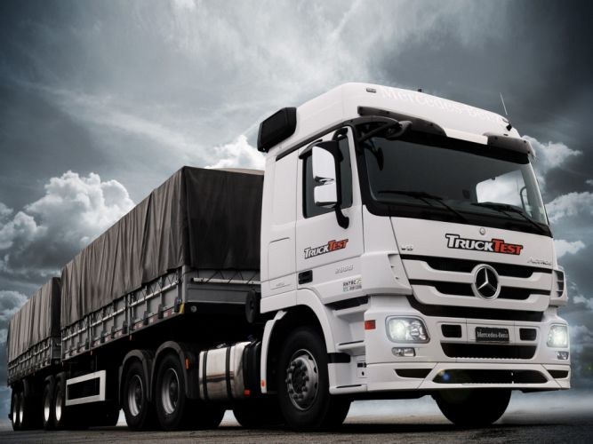 2013 Mercedes Benz Actros 2655 BR-spec (MP3) semi tractor g wallpaper
