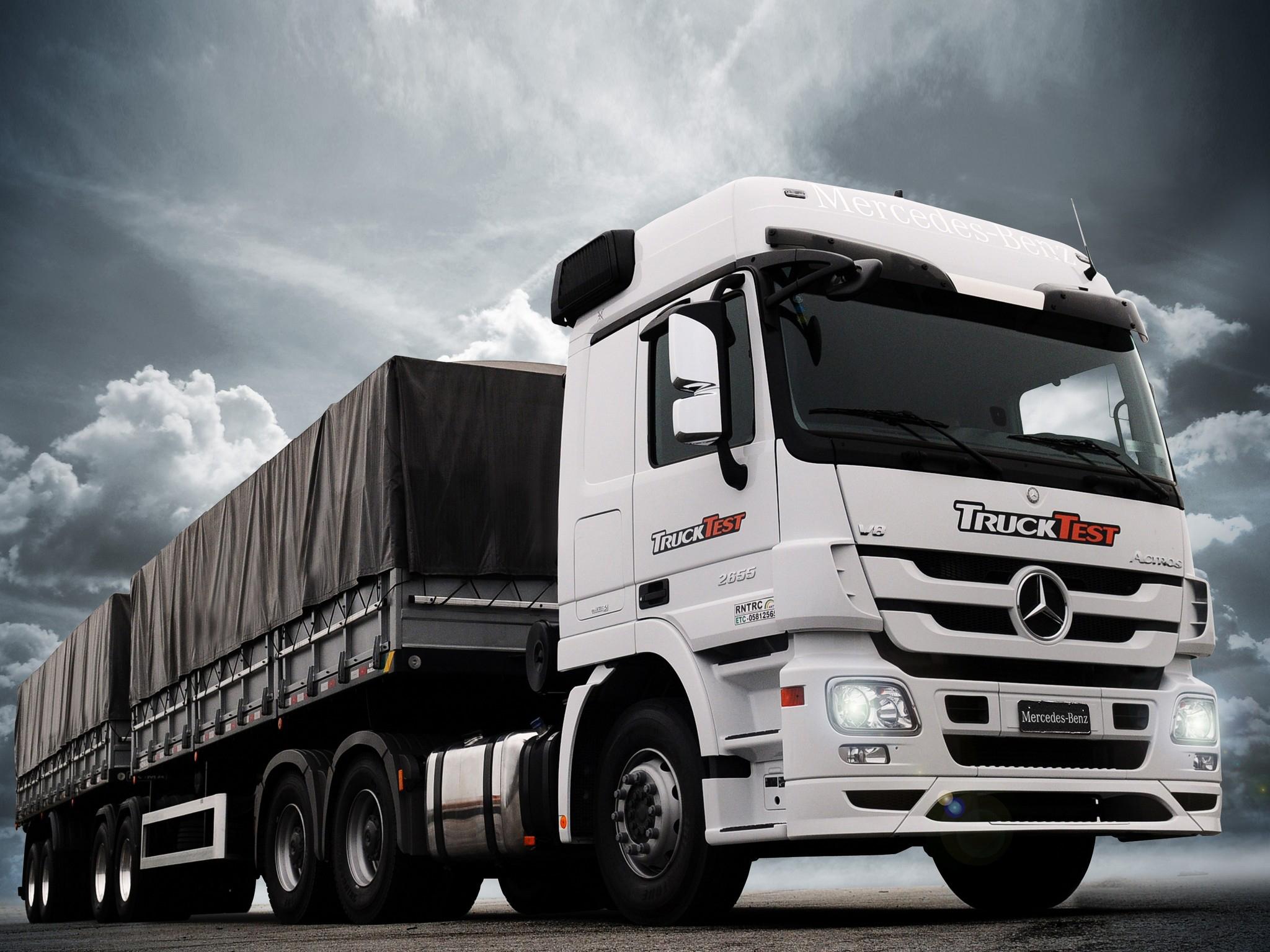 2013 mercedes benz actros 2655 br spec mp3 semi tractor. Black Bedroom Furniture Sets. Home Design Ideas