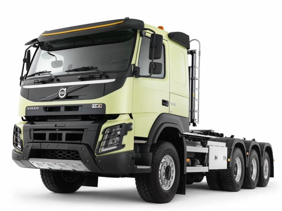 2014 Volvo FMX 8x4 Tridem semi tractor       g wallpaper