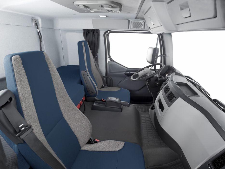 2014 Volvo VM 270 6x2 semi tractor v-m interior    h wallpaper
