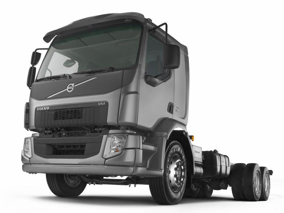 2014 Volvo VM 270 6x2 semi tractor v-m f wallpaper