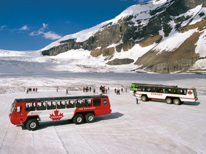 Foremost Terra Bus offroad 6x6 transport wallpaper