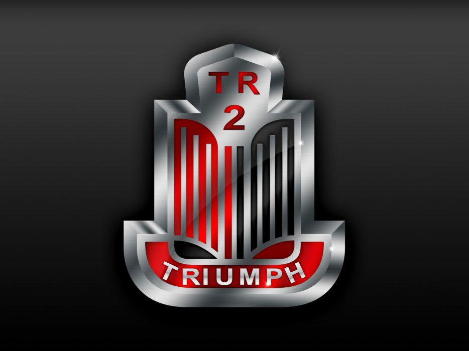 TRIUMPH MOTORS logo d wallpaper