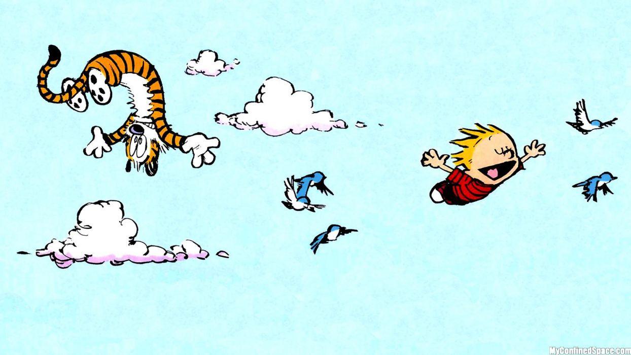 Calvin And Hobbes Comics J Wallpaper 1920x1080 162357