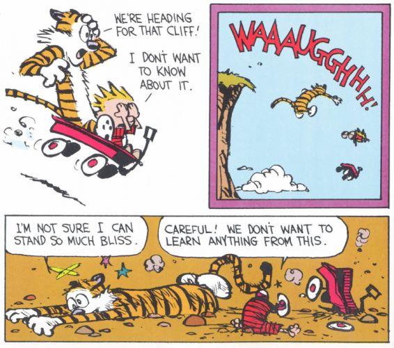 calvin and hobbes comics hd wallpaper