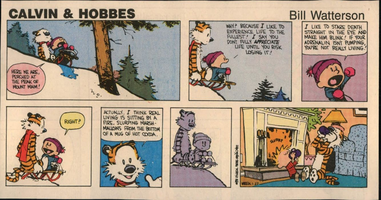 calvin and hobbes comics   js wallpaper