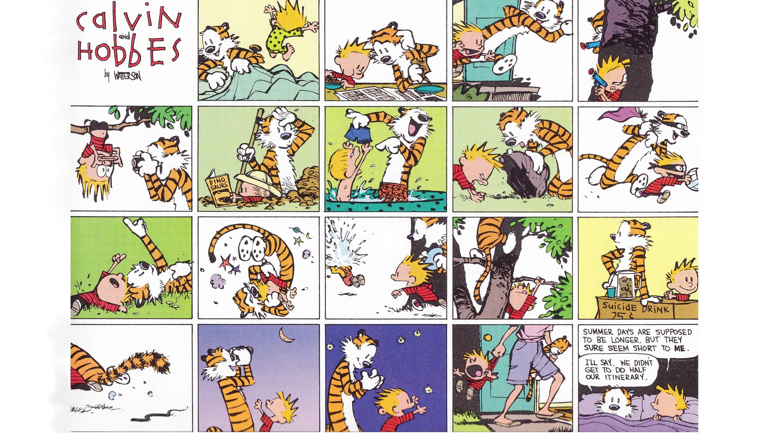 Calvin And Hobbes Comics J Wallpaper