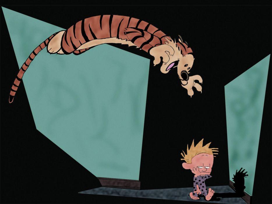 calvin and hobbes comics   m wallpaper