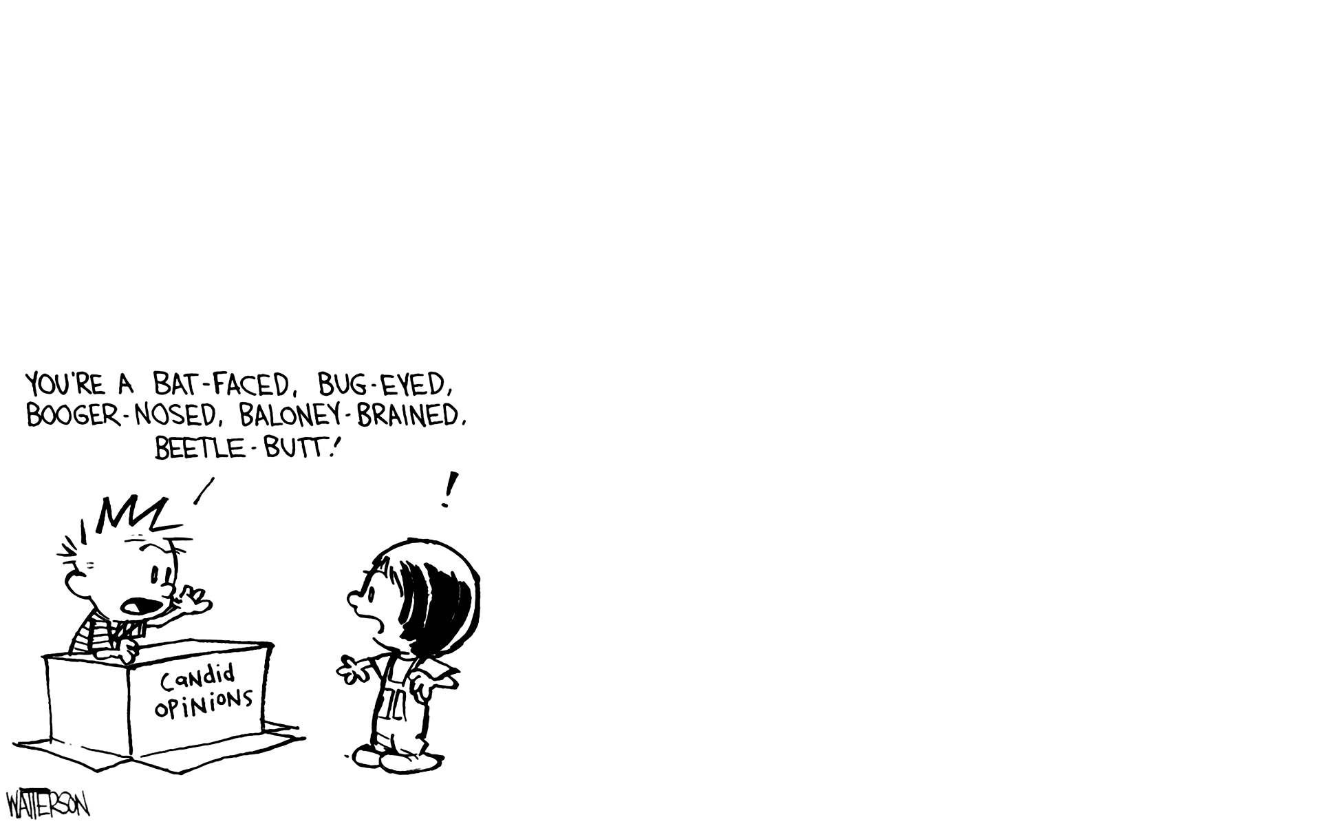 Calvin And Hobbes Comics R Wallpaper