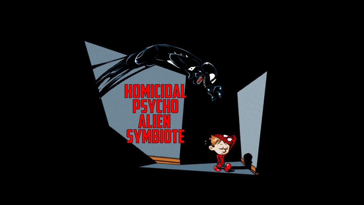 Calvin And Hobbes Comics Superhero F Wallpaper 1920x1080