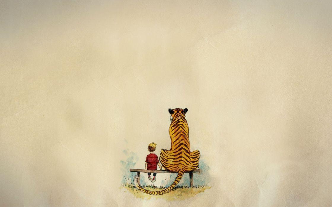 calvin and hobbes comics tiger    gp wallpaper