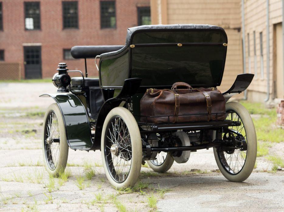 1901 De Dion Bouton 5-HDZ Motorette retro wallpaper
