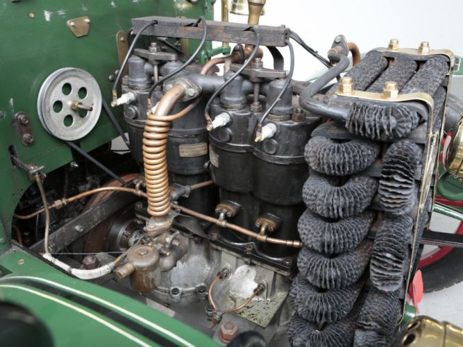 1902 Panhard & Levassor Type0B1 12-HP Rear entrance Tonneau retro engine f wallpaper